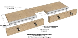 Riser Plate with Fence Kit (AKA Router Table)